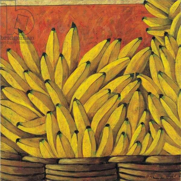 Bananas, 2000 (oil on linen)