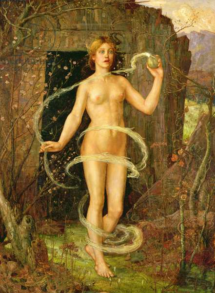 Spring Witch, c.1880 (oil on canvas)