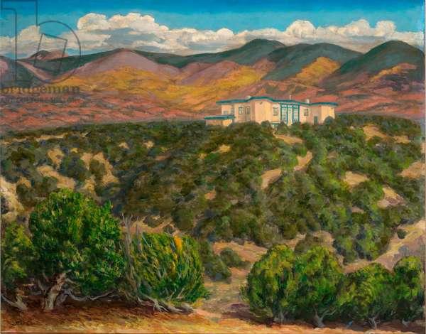 Sinagua, Santa Fe, 1941 (tempera on canvas)