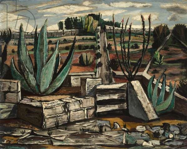 Forgotten Garden, 1946 (oil on board)