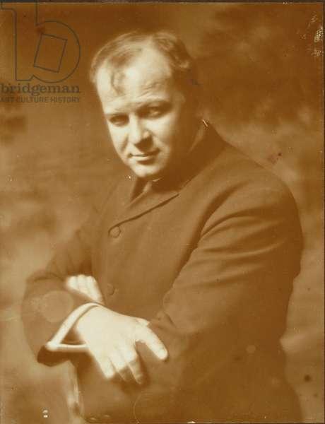 George Luks, 1907 (platinum print)