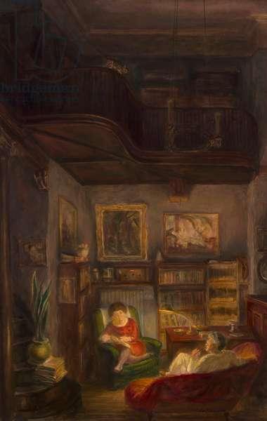 One Corner of the Studio, 1935 (oil on canvas)