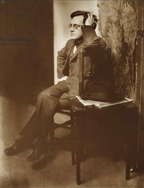 John Sloan, 1907 (platinum print)