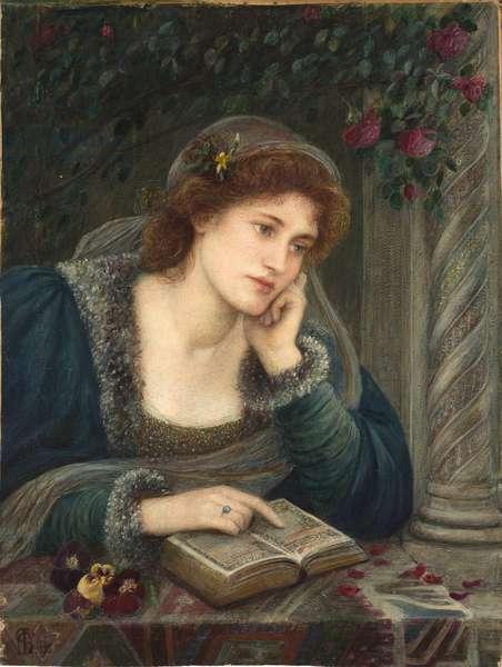 Beatrice, 1895 (w/c & gouache on paper)