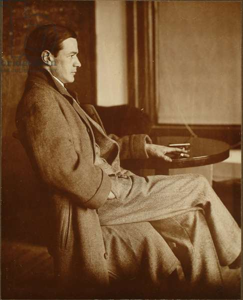 Everett Shinn, 1907 (platinum print)