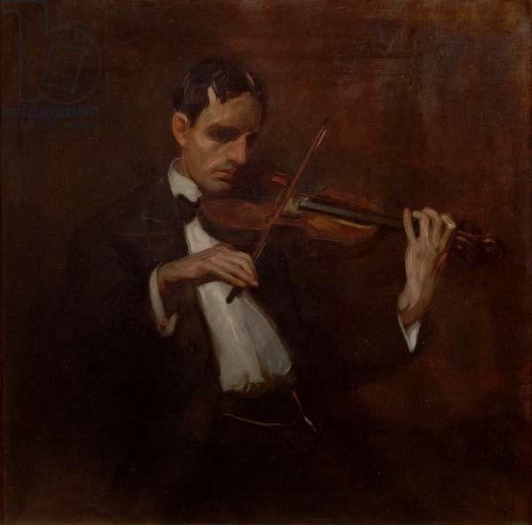 Violinist - Will Bradner (oil on canvas)