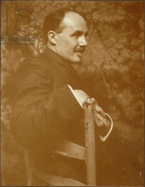 Ernest Lawson, 1907 (platinum print)