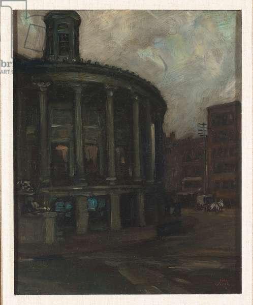 Philadelphia Stock Exchange (oil on canvas)