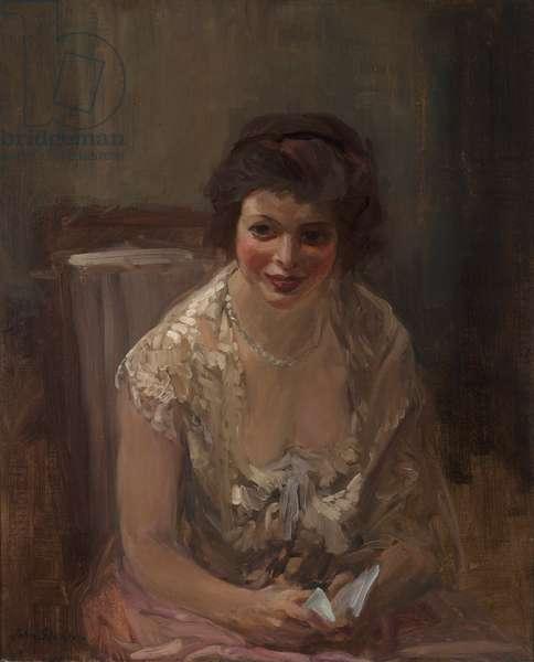 Iolanthe, 1909 (oil on canvas)