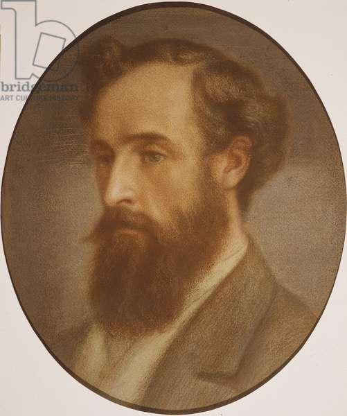 Frederick Leyland (1831-91) (pastel on paper)