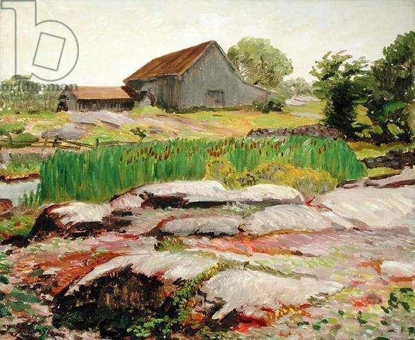 Gloucester (oil on canvas)