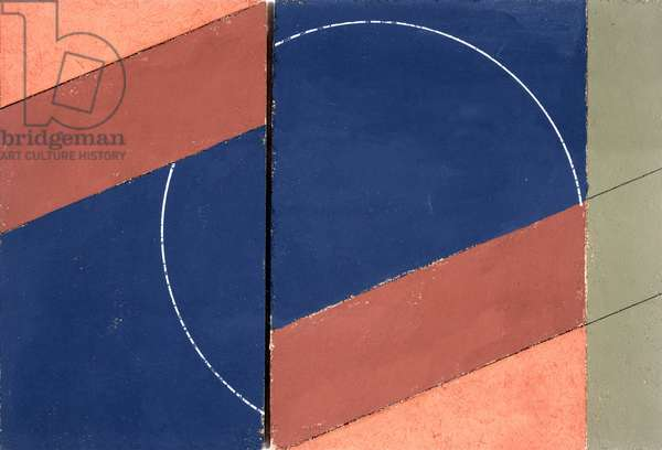 Painting - Interrupted Circle, 2000 (oil on board)