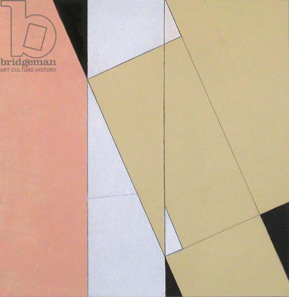 Spatial Relationship, No 2, 2003 (oil on paper and board)