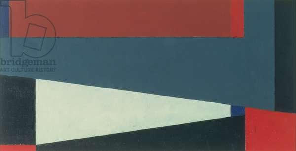 Oriflamme, motif No. 1, 1988 (oil on board)