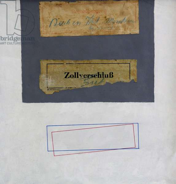 CCC (Customs Clearance Collage) (mixed media)