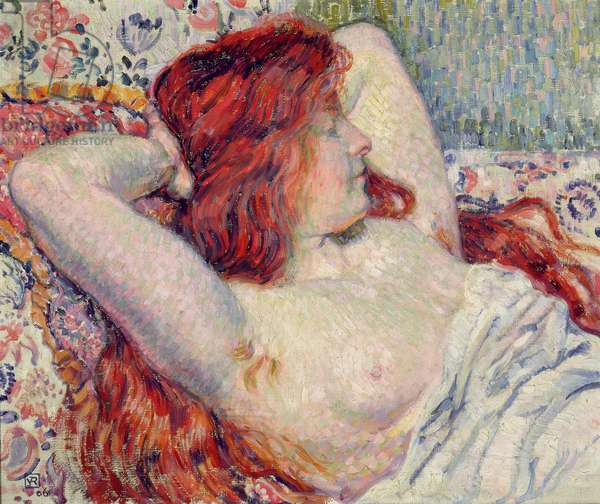 Woman with Red Hair, 1906 (oil on canvas)