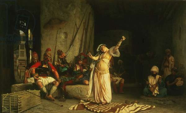 The Dance of the Almeh, 1863 (oil on panel)