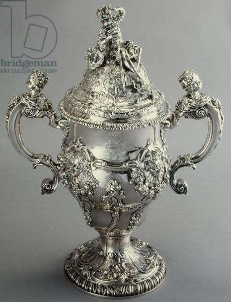 Covered Cup, c.1752-53 (silver)