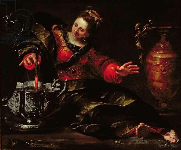 Circe Mulling Wine, c.1630 (oil on canvas)