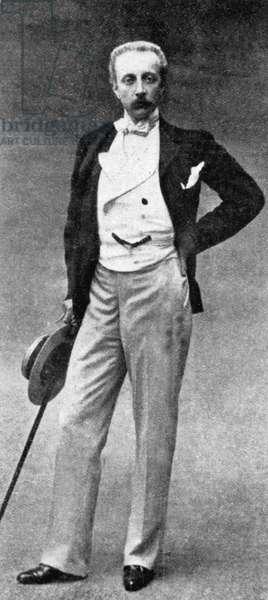 Boniface aka Boni, count of Castellane (1867-1932) French socialite he was also deputee, c. 1905