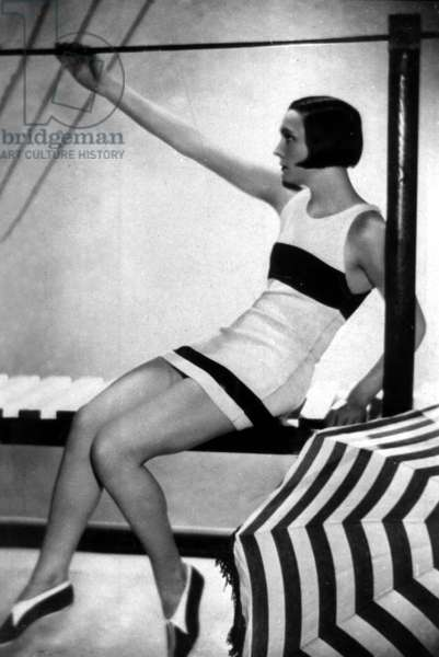 French comedian Arletty (1898-1992) here when she was a model, c. 1920