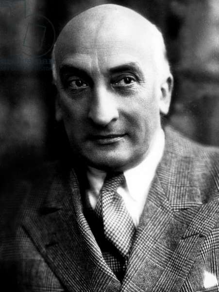 Jacques Copeau 1879-1949 French writer director of La Nouvelle Revue Française (NRF) in 1912-1914 and founder of the Theatre du Vieux Colombier in 1913 - French writer director of literary magazine and founder of the Vieux Colombier theater in Paris in 1913