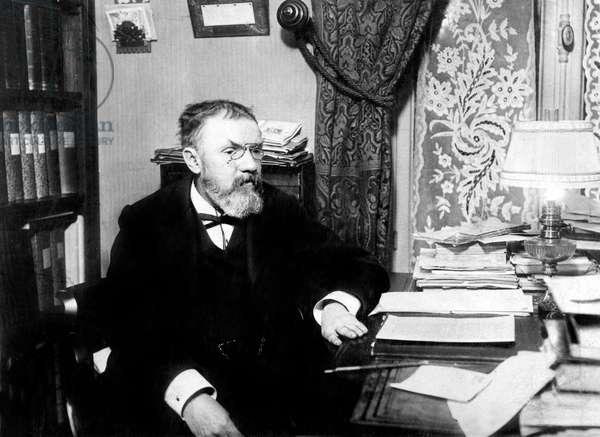 Henri Poincare(1854-1912), French Mathematician, mechanic, astronomer, mining engineer and philosopher, c.1900-1910
