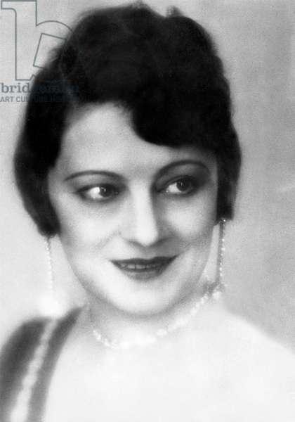 Eve Francis 1886-1980 actress francaise d'origine belge franch actress of belgian origins