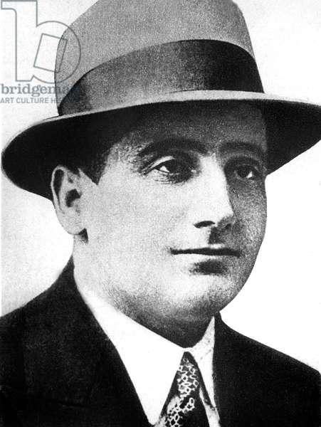 "Vlada Georguiev said Petrus Kalemen, macedonian, member of revolutionary Croat organization ""Oustacha"", murderer of king Alexander 1st of Yugoslavia and French minister Louis Barthou in october 9, 1934"