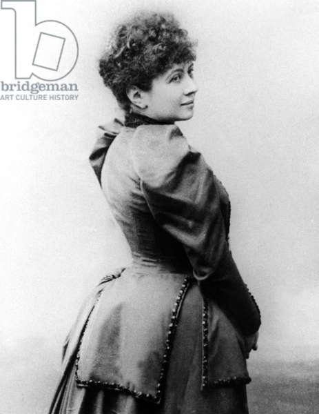 Caroline Remy aka Severine (1855-1929) French libertarian feminist militant for right to vote in France