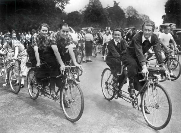 tandem rallye in 1937
