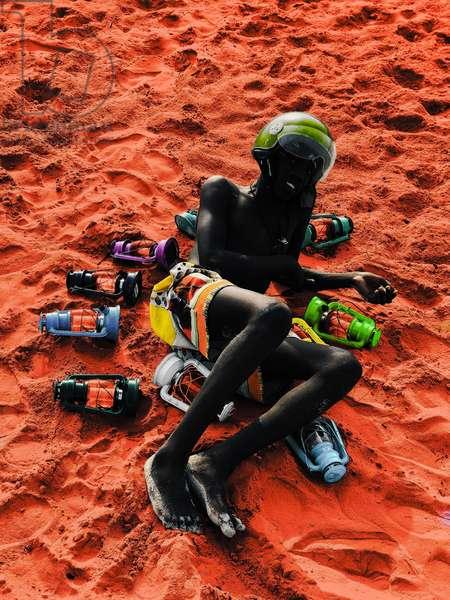 Noir rider, 2021 (digital image)