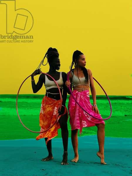 Music and dance, 2020 (digital image)