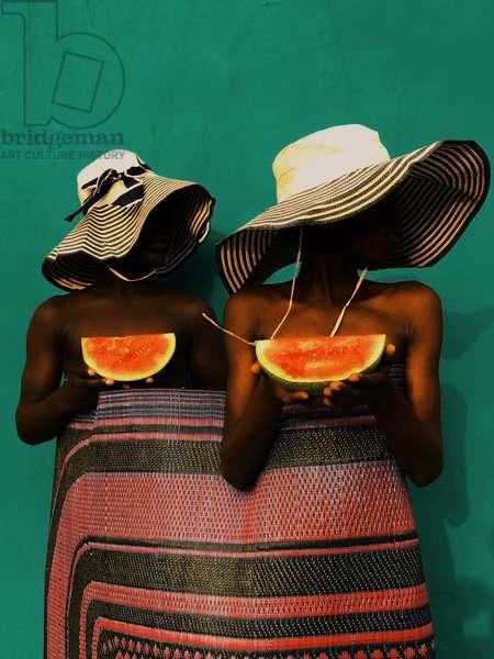Life is like eating watermelon v1.0, 2021 (digital image)