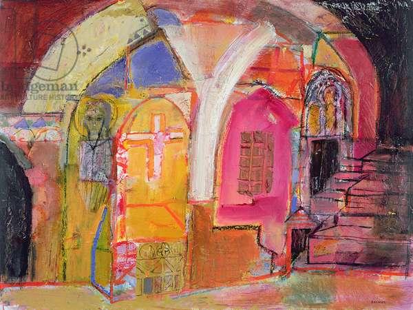 Crypt, 2001-07 (oil on canvas)