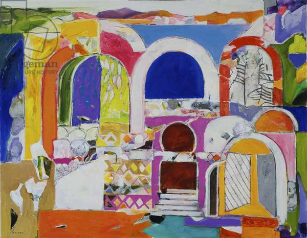 Old Tangier (oil on canvas)