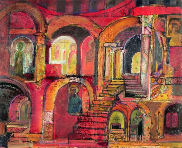 Palermo: a memory, 2006-08 (oil on canvas)