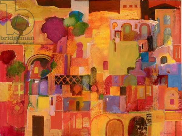 Alhambra (oil on canvas)