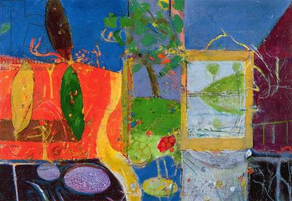 Bellagio (Lake Como), 1989-91 (oil on canvas)