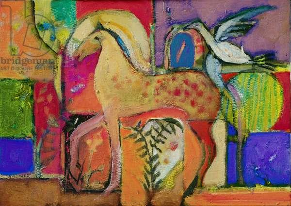Tarquinia (oil on canvas)