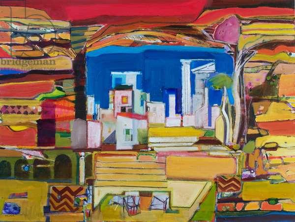 Aegean (oil on canvas)