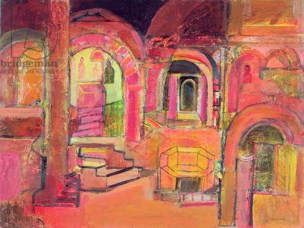 Sicilian journey, 2006 (oil on canvas)
