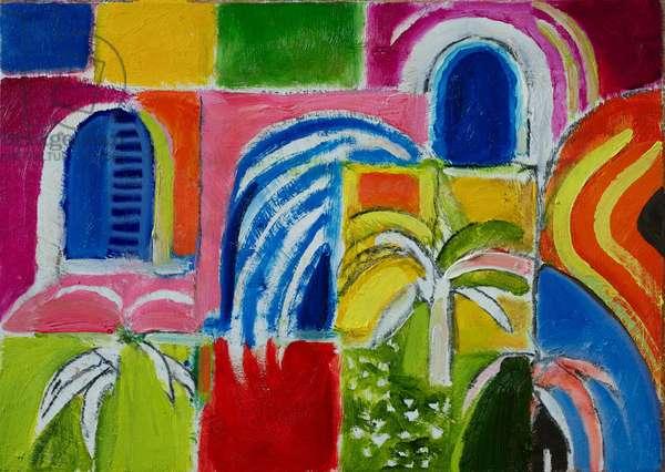 Cadiz (oil on canvas)
