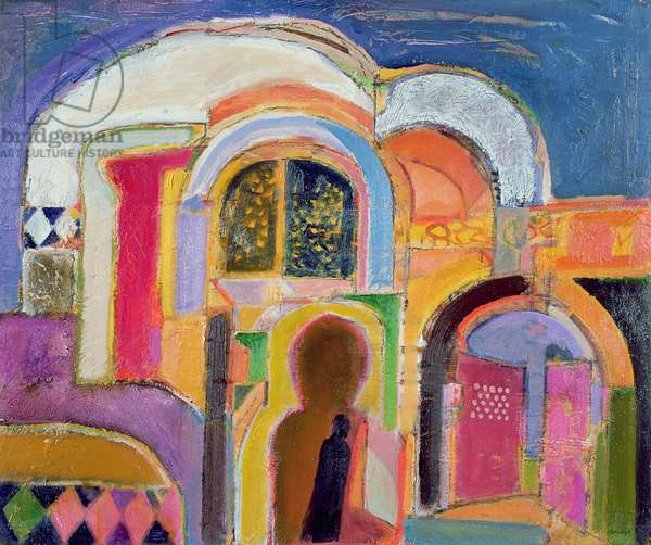 Morocco II, 2004-05 (oil on canvas)