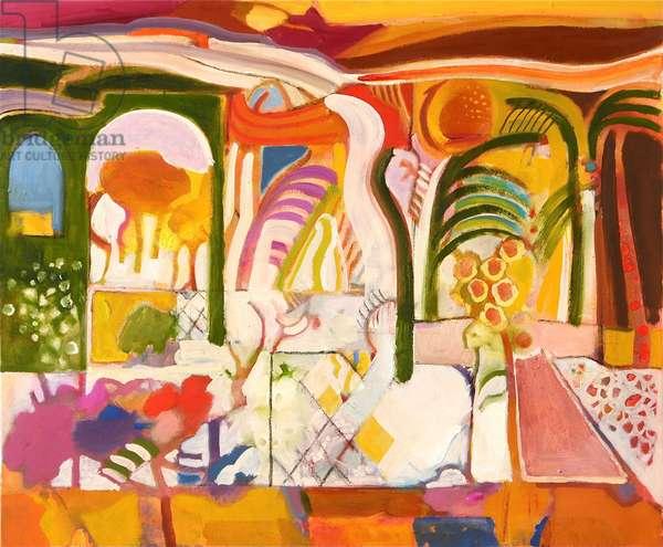 Mallorca (oil on canvas)