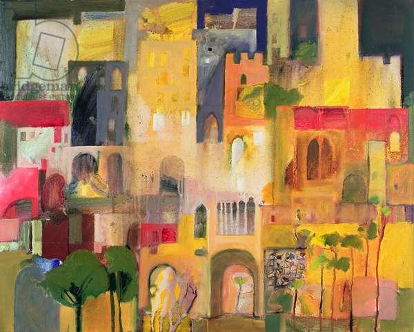 Castle, 2007-08 (oil on canvas)