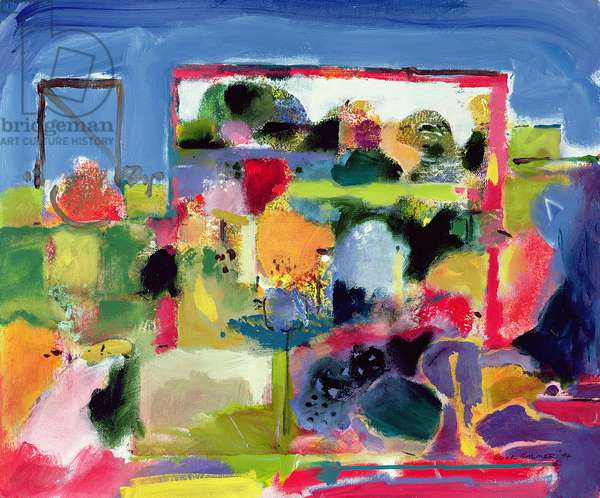 Garden, 1992 (oil on canvas)