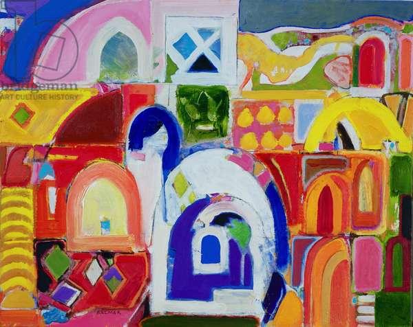 Rabat (oil on canvas)