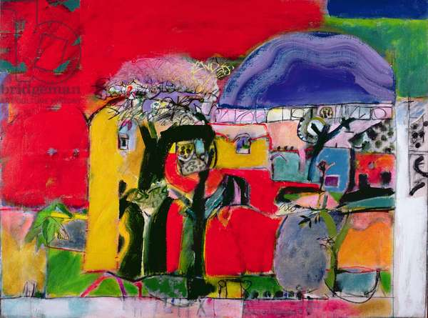 Anatolia, 1995-97 (oil on canvas)