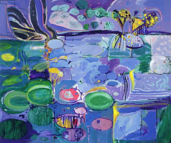 Giverny, 1990-92 (oil on canvas)